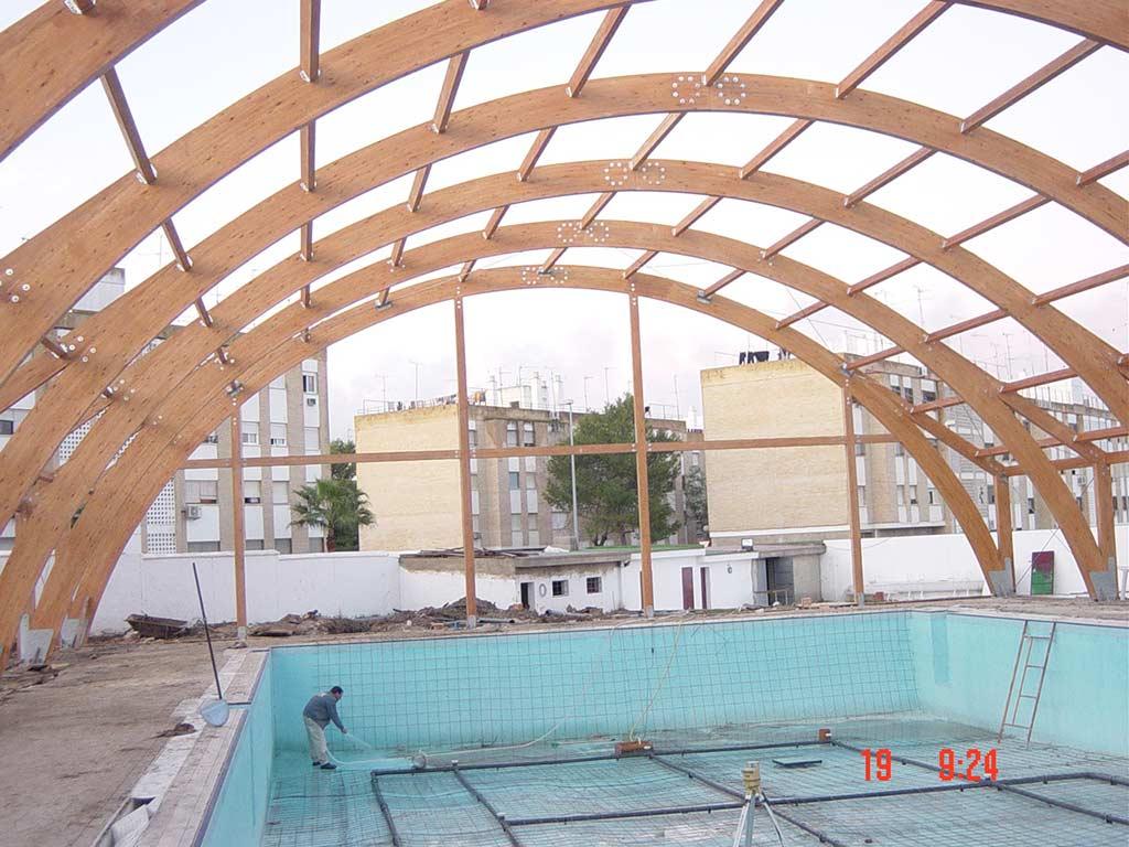 Obras cat 194 - Piscina municipal santander ...